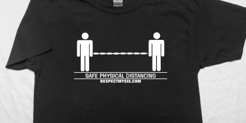 Beer bottles Social distancing Canada physical distance shirt funny six feet