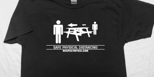 Picnic outdoor Social distancing Canada physical distance shirt funny six feet