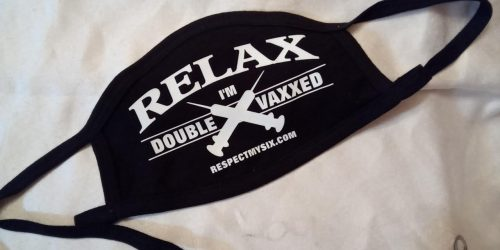 Double vaxxed mask